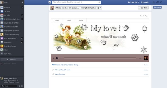 FB music page