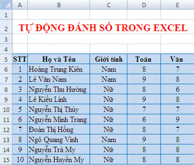 cach-tu-dong-danh-so-trong-excel