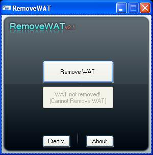 remove wat window 7 02