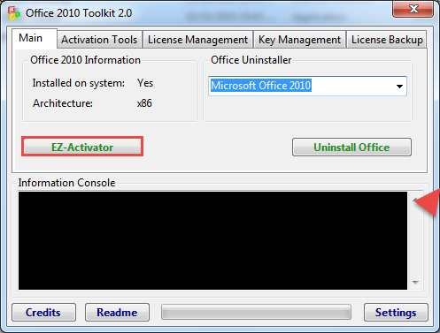 ms office 2010 activator rar