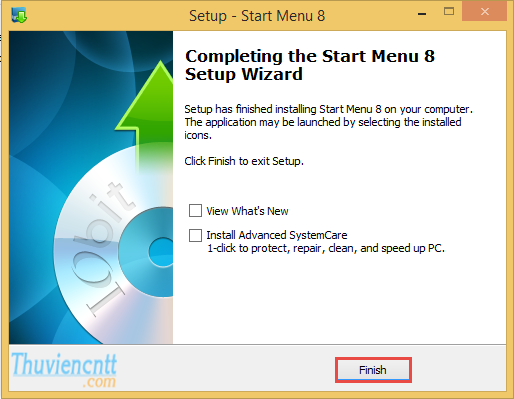 Download Start Menu 8 - Tạo Nút Start windows 8 giống windows 7 6