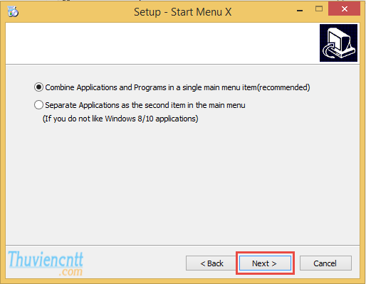 Download Start Menu X PRO - Tạo Menu start Windows 8 6