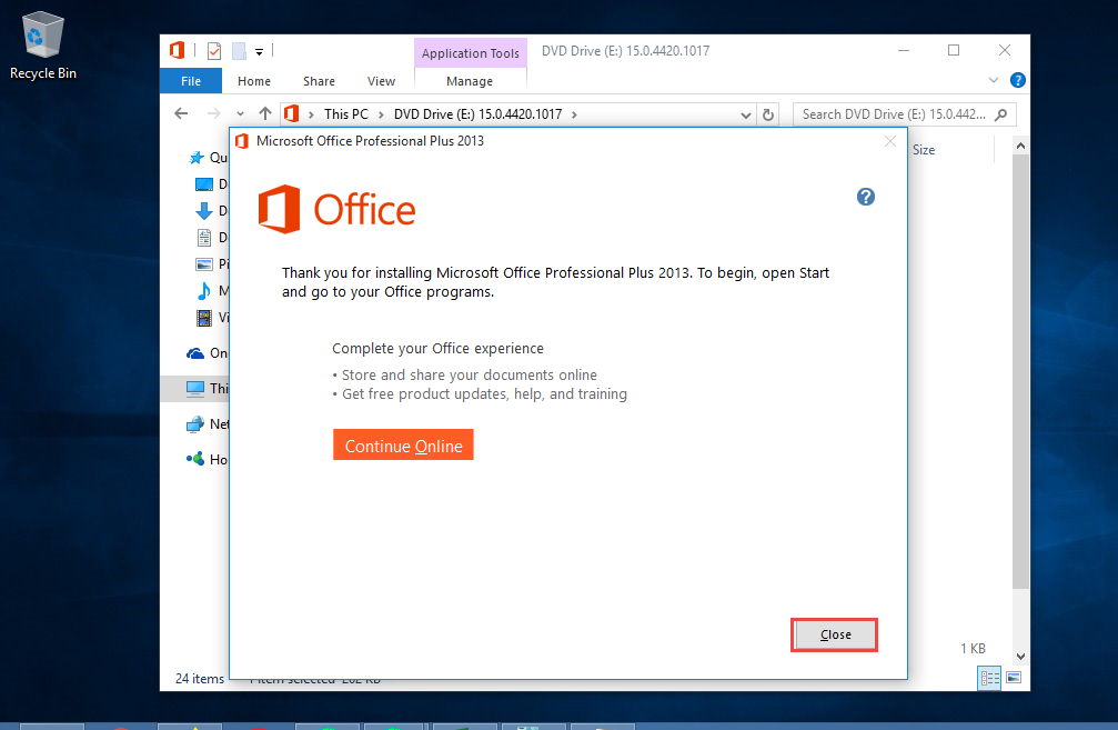 Cài đặt Office 2013 - Link Download Office 2013 Full 7