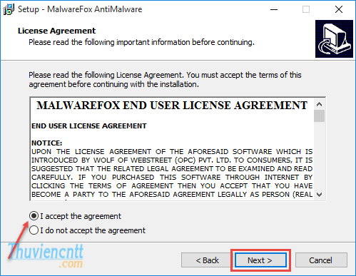 Remove Redirect Virus bang MalwareFox 03