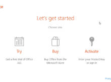 Disable MS Office 2016 activate on window 10 OEM
