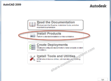 Cài đặt AutoCAD 2009 full crack - Download crack AutoCAD 2009 64bit
