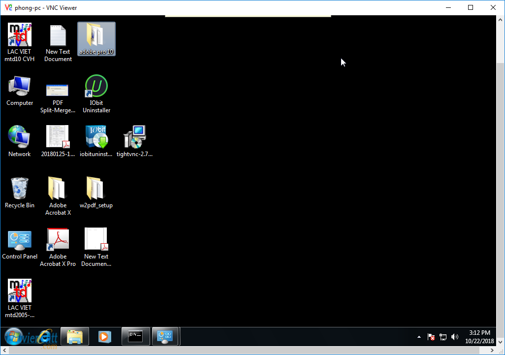 Download VNC Viewer - VNC Server - Phần mềm remote VNC 4