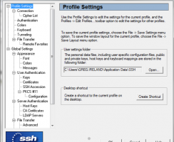 Download phần mềm SSH secure shell client 3.2.9