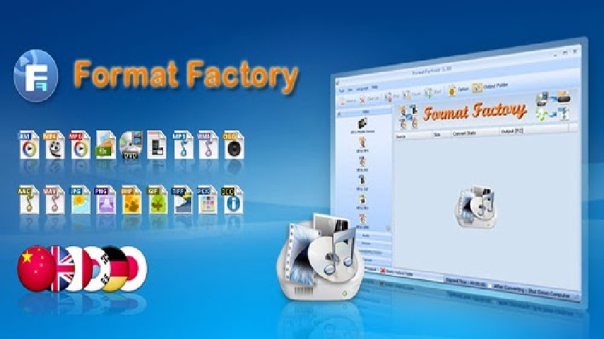 Download Format Factory 5 - Convert Video, mp3 miễn phí